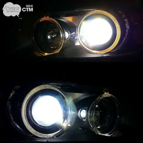BMW 320i (E90)_4200K to 6700K_Angel eye Led lamp.jpg