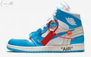 Off-White x Jordan 1 UNC Blue