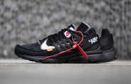 Off White X Nike Presto Black